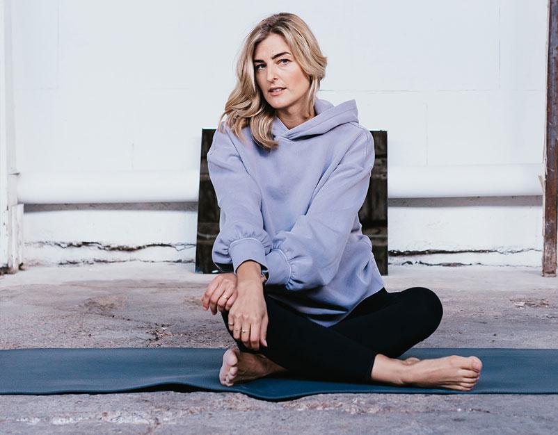 kim van der veer yoga magazine
