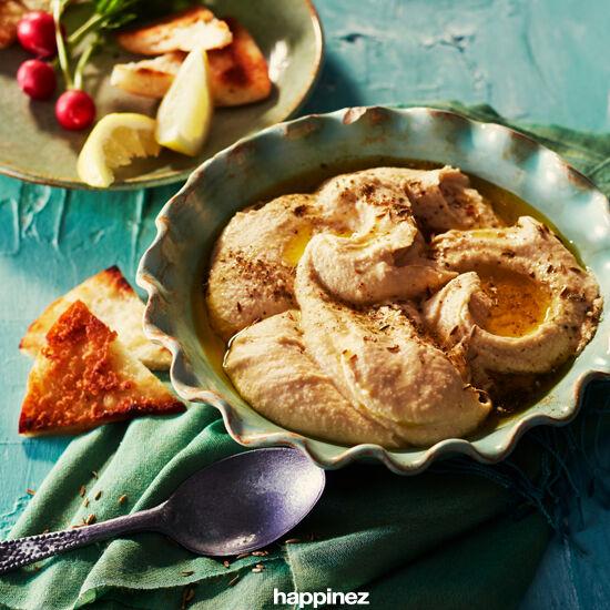Basisrecept voor hummus