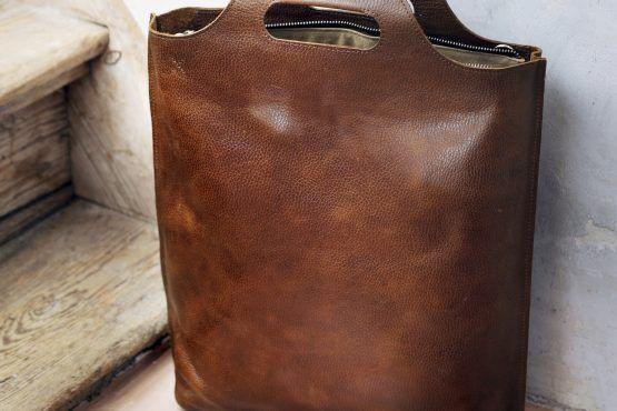 Eco-leren tas Carry