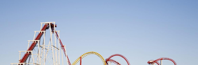 Wat te doen als je het gevoel hebt dat je in een achtbaan zit?