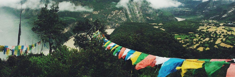 Ken jij de bijzondere betekenis van Tibetaanse gebedsvlaggetjes?