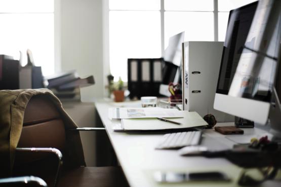 Is je bureau een chaos? Dit is er aan de hand