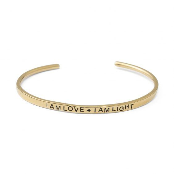 i am love armband