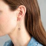 rookkwarts Graceful oorbellen