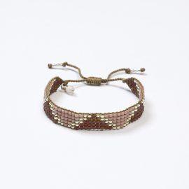 Rozenkwarts armband Jasmin