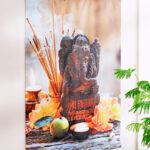 Wanddoek Ganesha