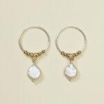Oorbellen Perla zilver