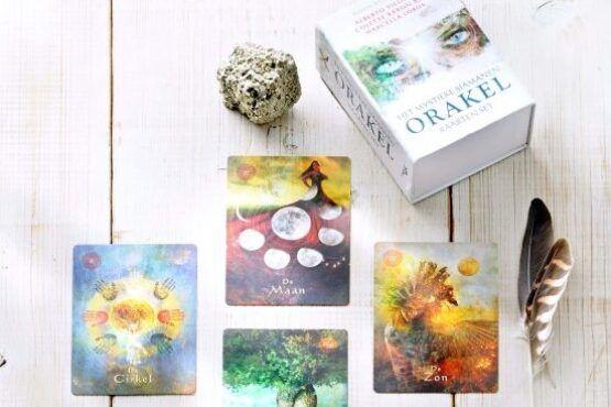 Halfjaarabonnement  + Mystieke Sjamanen Orakel kaartenset cadeau