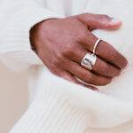 Zilveren ring Soul