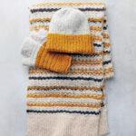 Alpacawollen sjaal Saffron