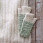 Alpacawollen sjaal Willow