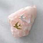 Broche zwaluw