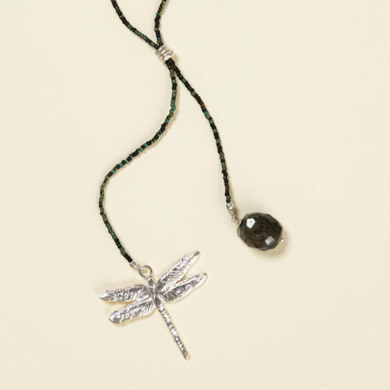 Labradoriet ketting Dragonfly