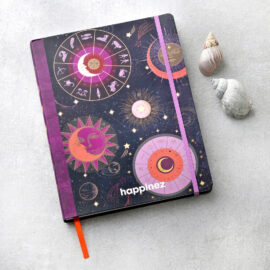 Notitieboek astrologie groot