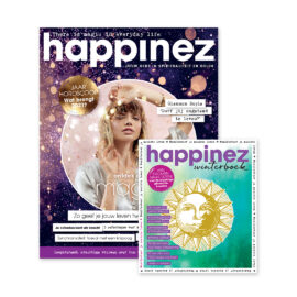 Happinez 8-2020 met winterboek