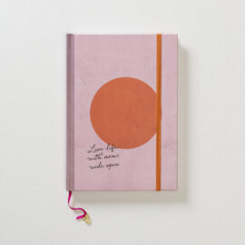 Notitieboek Glowing rose