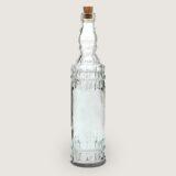 Glazen fles met kurk Oasis