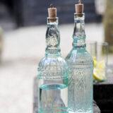 Toscaanse fles met kurk